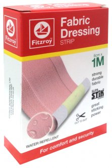 Fabric Dressing Strip 6cm x 1M